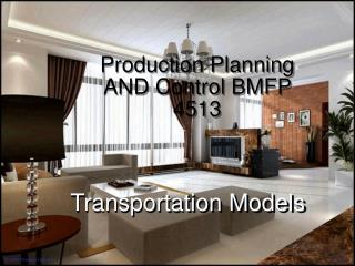 Production Planning AND Control BMFP 4513