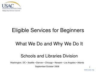 Eligible Services for Beginners