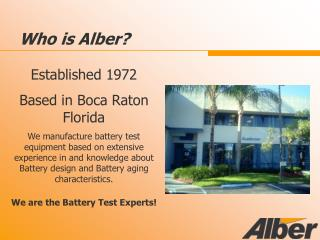Who is Alber?