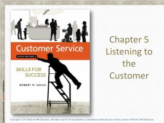 Chapter 5 Listening to the Customer