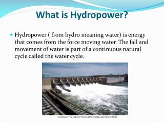 What is Hydropower