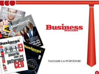 De 10 ani scriem cu succes povestea Business Magazin…