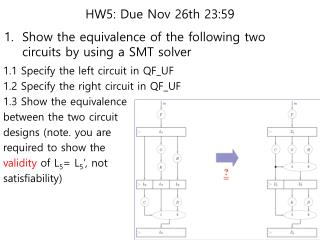 HW5: Due  Nov 26th  23:59
