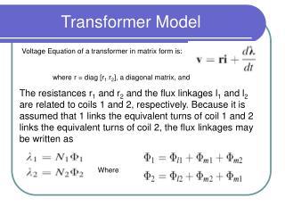 Transformer Model