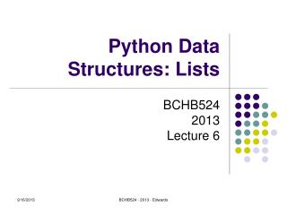Python Data Structures: Lists