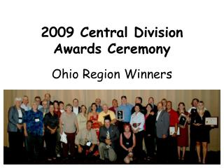 2009 Central Division Awards Ceremony