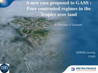 GEWEX meeting GASS