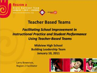 Teacher Based Teams
