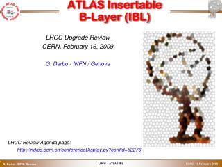 ATLAS Insertable  B-Layer (IBL)
