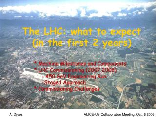 The LHC: what to expect (in the first 2 years)