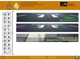 Dirección de  Pavimentos
