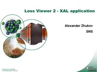 Loss Viewer 2 - XAL application