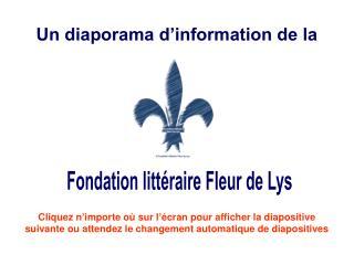 Publier votre livre - Fondation litt??raire Fleur de Lys