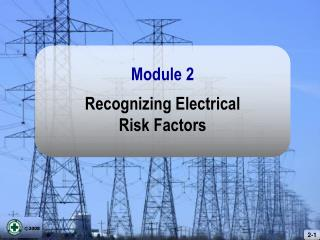 Recognizing Electrical Risk Factors