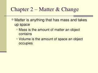 Chapter 2 MATERIALS AND MATERIAL PROPERTIES