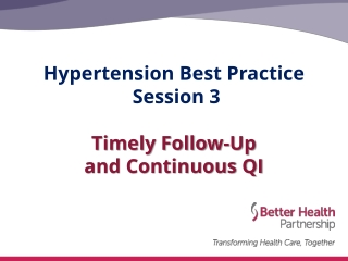 Hypertension: Improving Patient Education HIPE