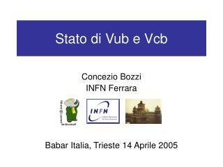 Stato di Vub e Vcb