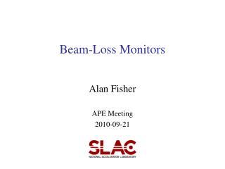Beam-Loss Monitors