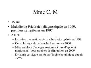 Mme C. M