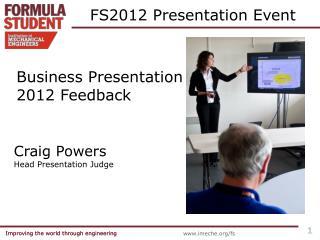FS2012 Presentation Event