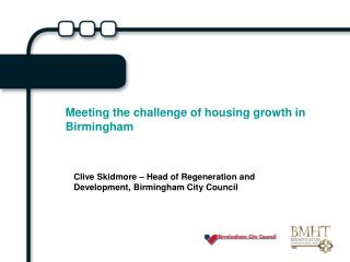 Meeting the challenge of housing growth in Birmingham