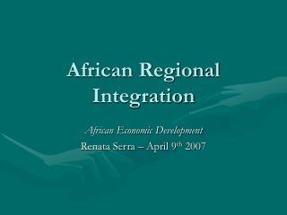 African Regional Integration