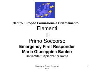 Centro Europeo Formazione e Orientamento