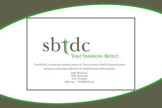 SBTDC Mission