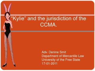 """Kylie"" and the jurisdiction of the CCMA."