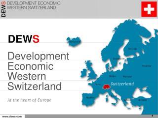 Development  Economic Western  Switzerland