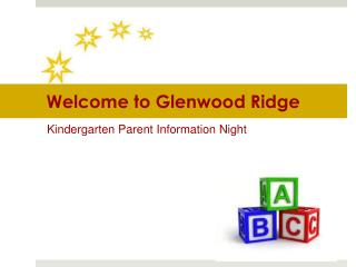 Welcome to Glenwood Ridge