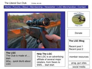 Home | Forums | About | Membership | Newsletter | LGC Merchandise | Contact
