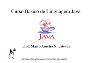 Curso B�sico de Linguagem Java