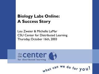 Biology Labs Online