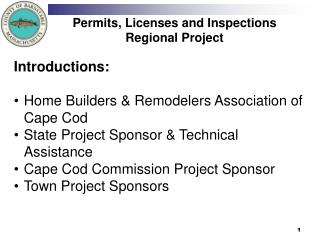 Permits, Licenses and Inspections Regional Project