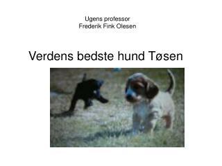 Ugens professor Frederik Fink Olesen