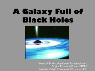 A Galaxy Full of Black Holes
