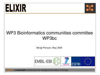 WP3 Bioinformatics communities committee WP3bc