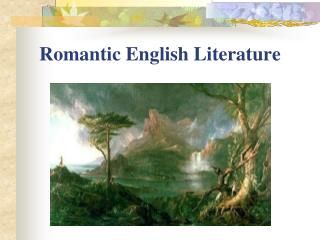Romantic English Literature