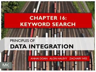 CHAPTER 16:  KEYWORD SEARCH
