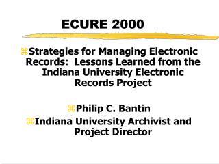 ECURE 2000