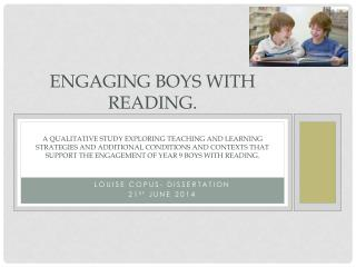 Louise  copus - dissertation 21 st june  2014