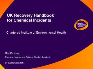 UK Recovery Handbook for Chemical Incidents