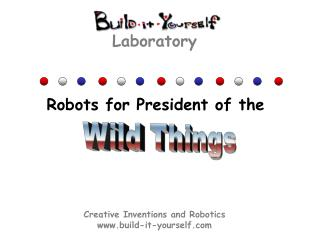 Creative Inventions and Robotics build-it-yourself