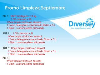 Promo Limpieza Septiembre