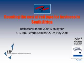 Counting the cost of red tape for business in South Africa