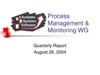 Process Management & Monitoring WG