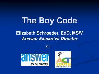 The Boy Code