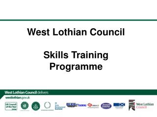 West Lothian Council Skills Training Programme