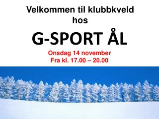 G-SPORT ÅL